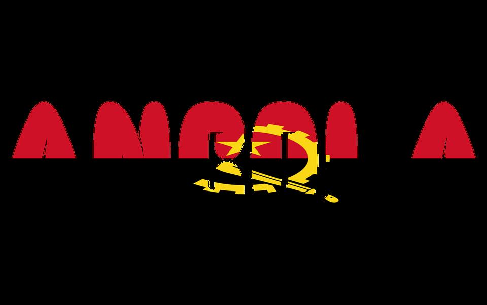 Flag Of Angola Africa