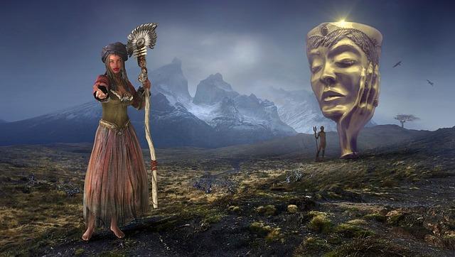 Fantasy Landscape Myst...