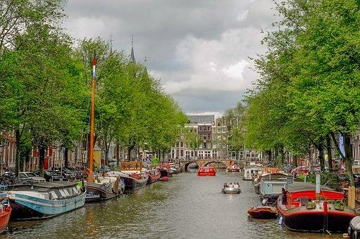 Casas Flotantes de Ámsterdam