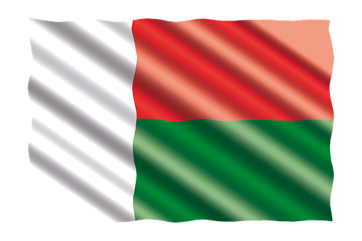 International, Drapeau, Madagascar