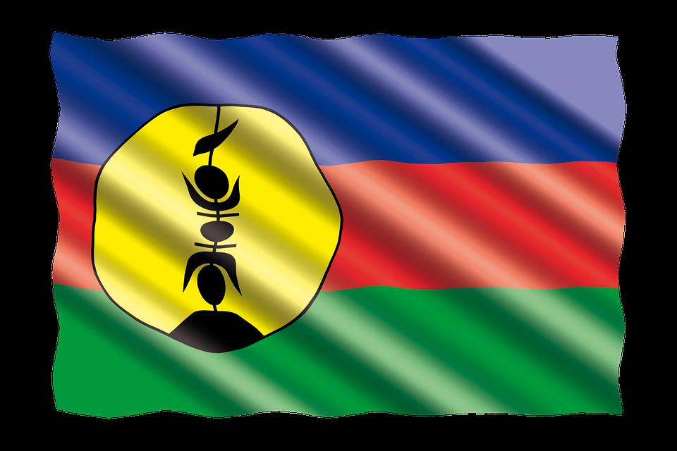 International, Drapeau, La Nouvelle-Calédonie