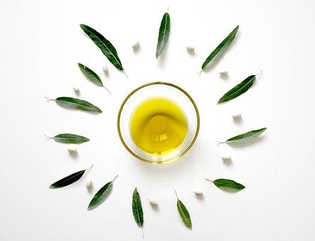 オリーブ, 油, 葉, 植物, 食べる, 食物, 地中海, 緑, テーブル