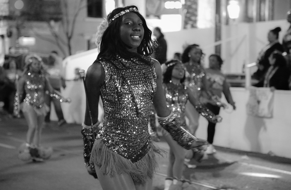 Woman dancing black Teen