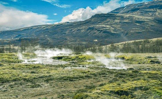 Pegunungan, Cantik, Batuan, Islandia