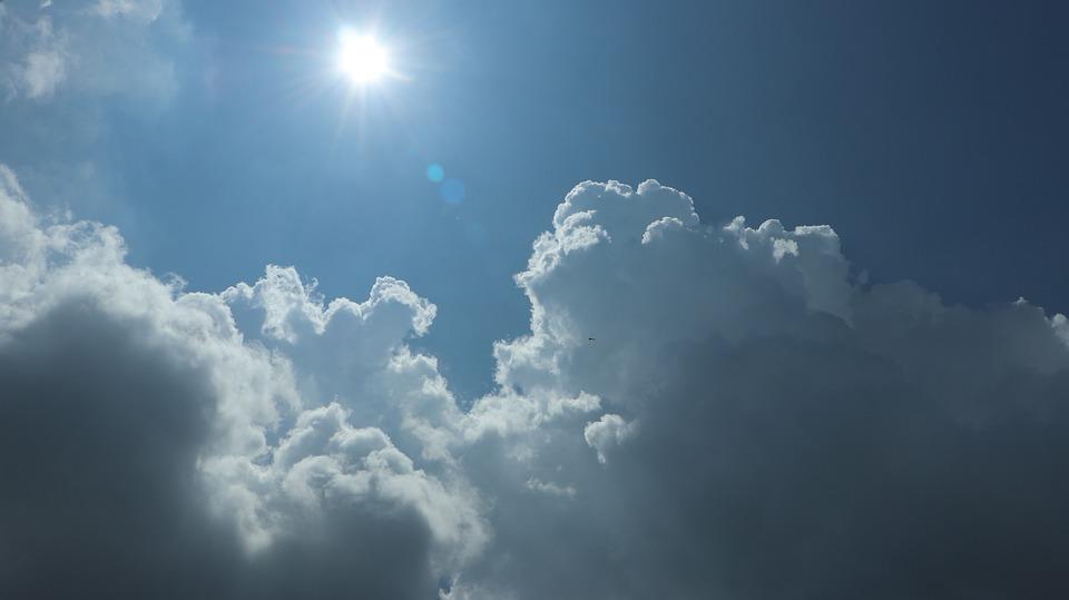 Sky, Blue, Sun, 輝く, 点滅, Air, 平面, Airplane, レンズ, ドラゴン