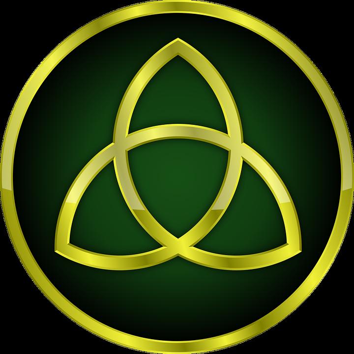 Triquetra Gold Trinity Free Image On Pixabay