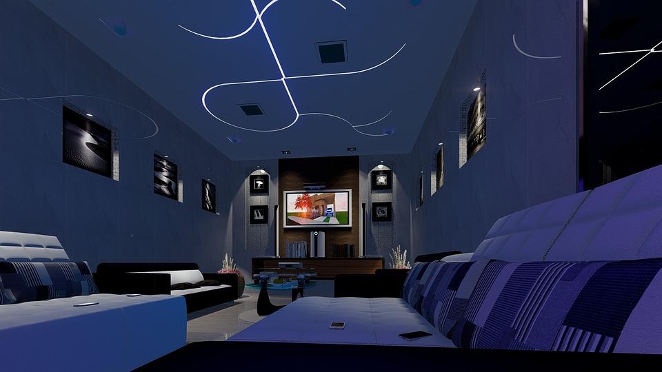 荷物, テレビ, インテリア, ソファ, 装飾, アーキテクチャ, モバイル, ホーム, シナリオ, デザイン