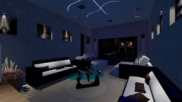 Luggage, Tv, Interiors, Sofa, Decoration