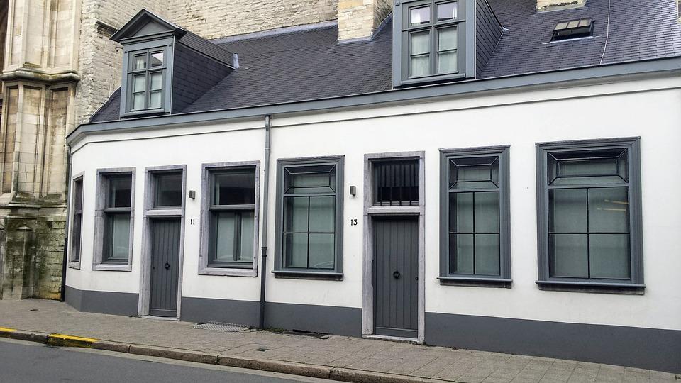 Huis gevel oude gebouwen · gratis foto op pixabay