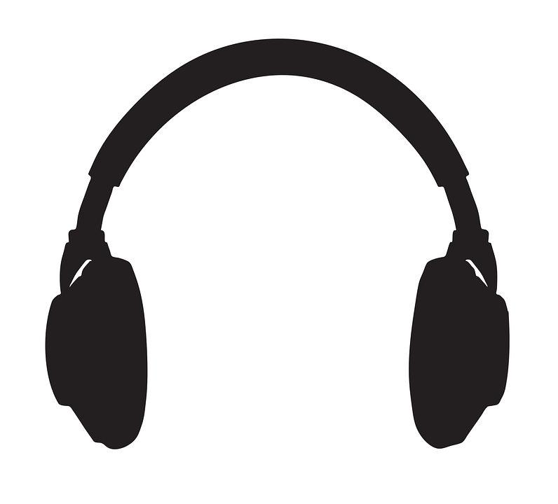 Headphones Podcast Popular · Free vector graphic on Pixabay