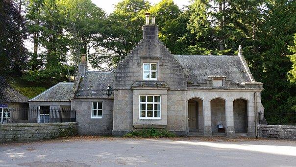 Scotland, Stone House, Old, Stone