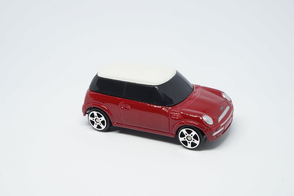 Carro Mini Couper Rojo Foto Gratis En Pixabay