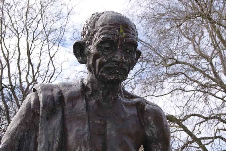 Gandhi Tavistock Square London Statue Camden