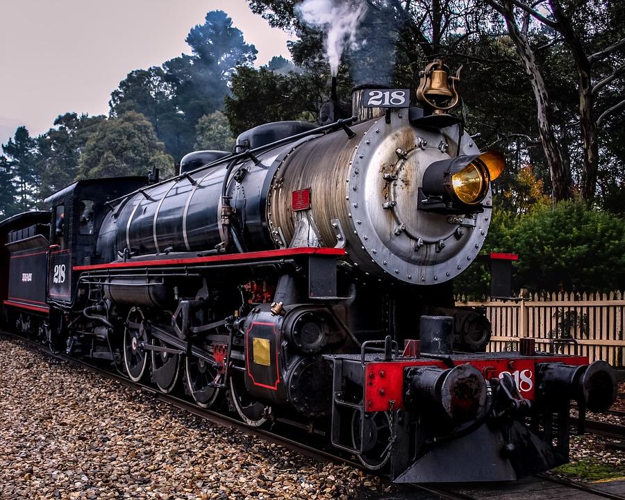5b9d0f09976f Steam Train Railway Black - Free photo on Pixabay
