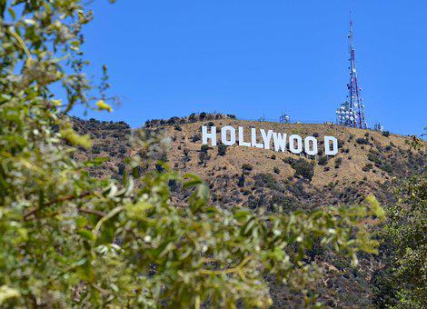 Usa, Los Angeles, Hollywood Sign