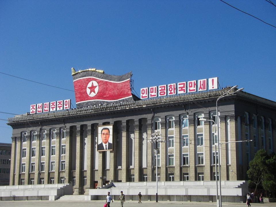 Korea Północna, Phenian, Budynek, Plac Kim Ir Sena