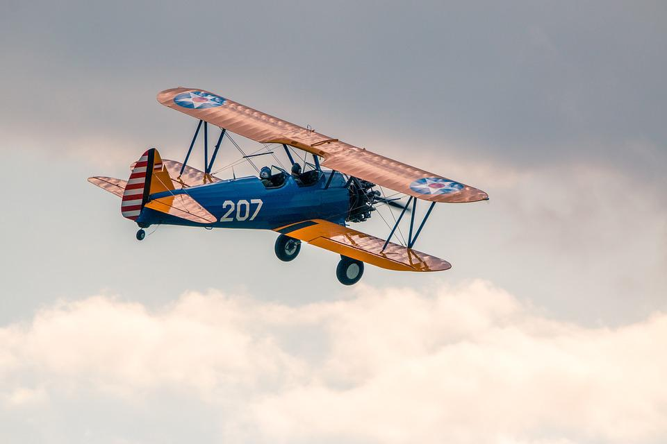 Boeing Stearman Pt-13D Double - Free photo on Pixabay