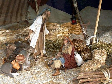 Christmas Nativity Scene Advent
