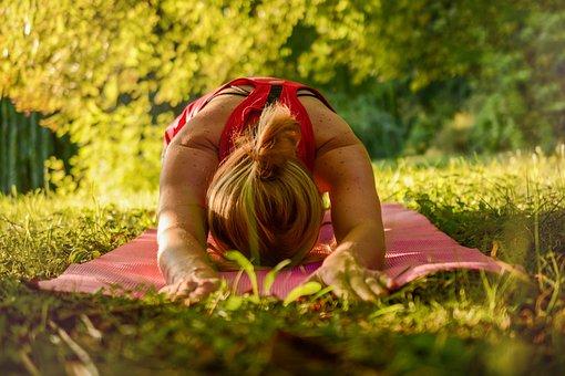 Yoga, Calma, Lançamento, Alongamento