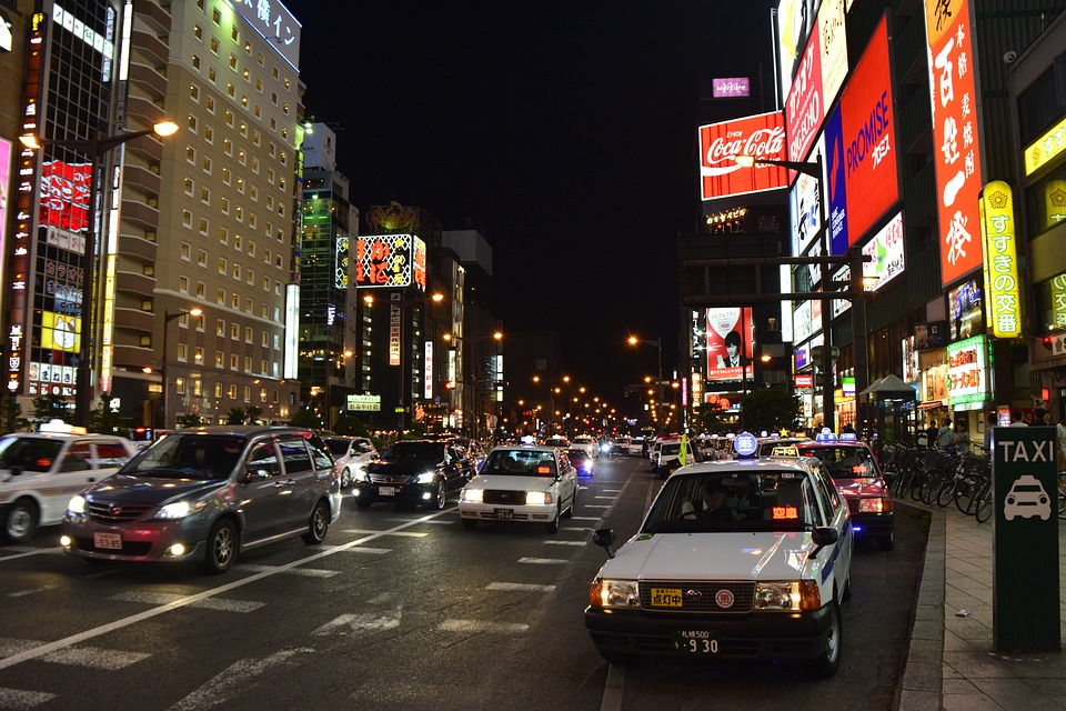 Japonia, Sapporo, Hokkaido, Asia, Landmark, City