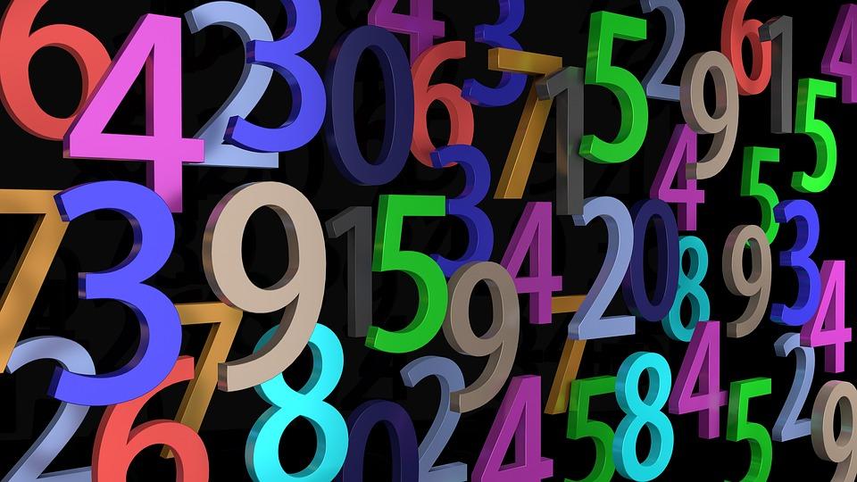 お支払い, 番号, 桁, 数学, カウント, 学校, 塞ぎます, 背景, パターン, 3 D, ミキサー