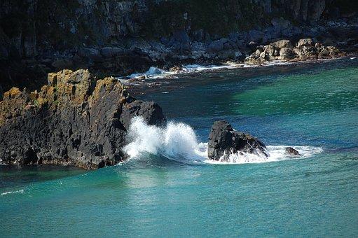 Antrim Coast, Northern Ireland, Rocks