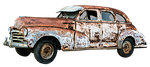 oldtimer, rusty, old