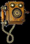phone, old, wood