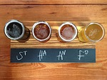 beer, flight, brewery