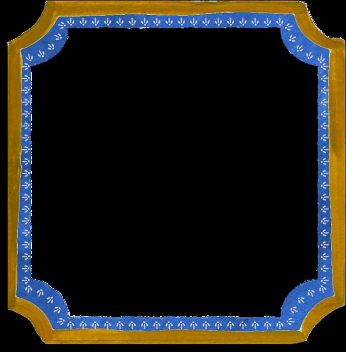 Rahmen Blau Brown · Kostenloses Bild auf Pixabay