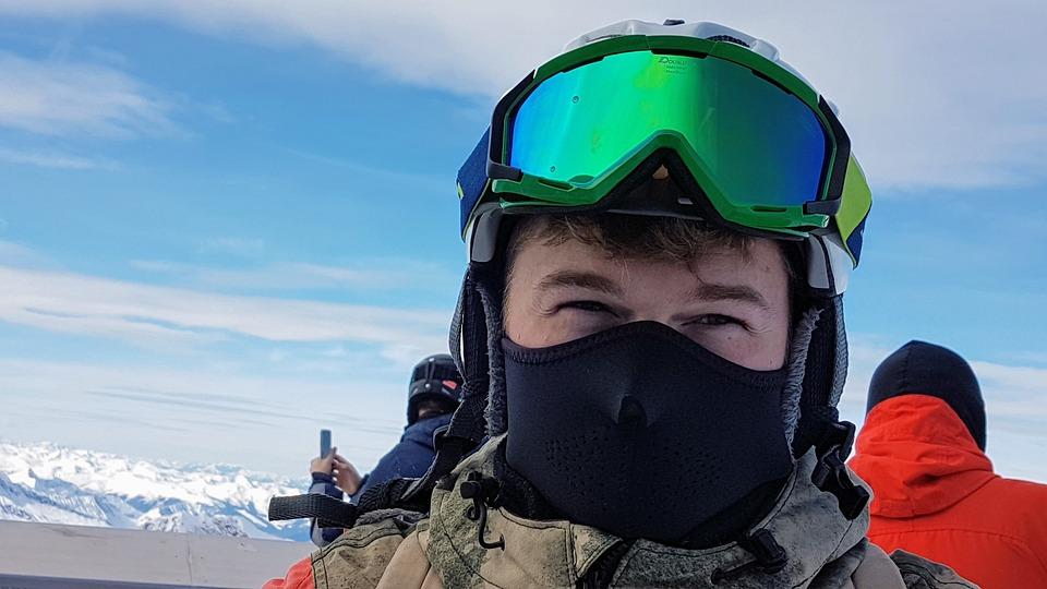 Ski Glasses, Ski Mask, Eyes, Winter Sports, Snowboard