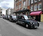 london, england, taxi
