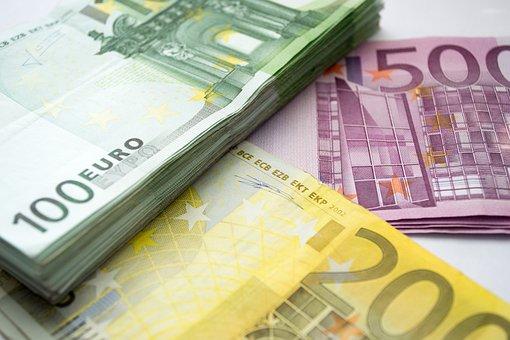 Geld, Euro, 100 Eur, 200 - Eur, 500 Eur