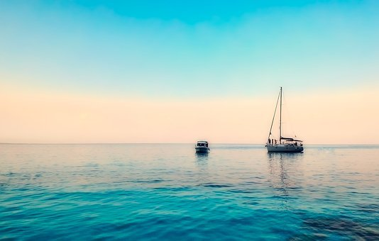 Greece, Boats, Sailboat, Sea, Ocean