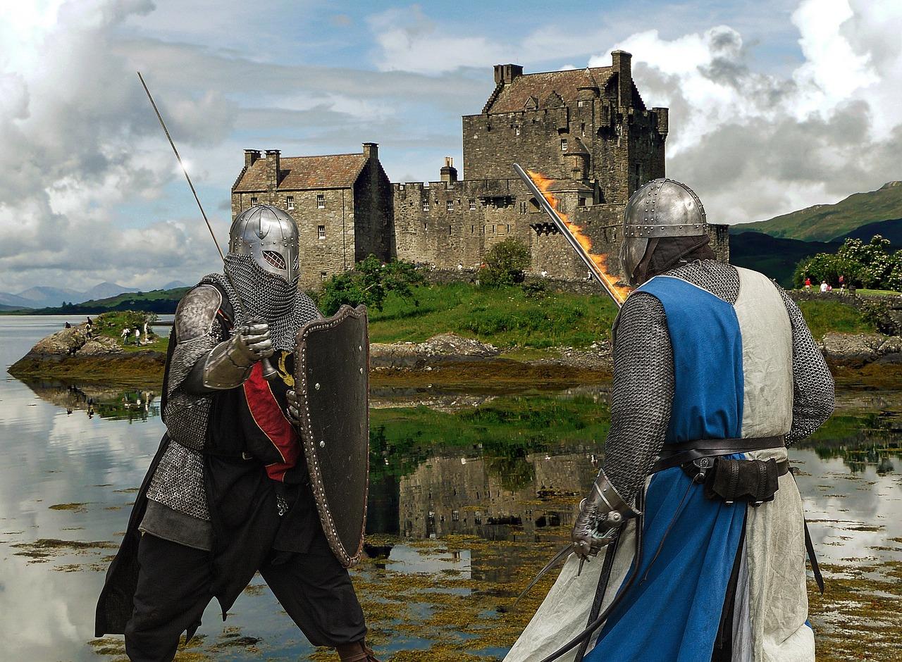 Рыцари в средневековье картинки