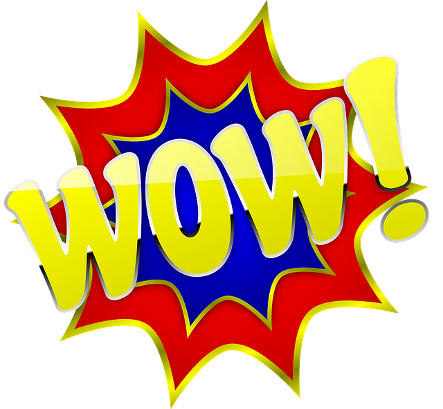 Wow You Re Amazing: Wow Surprise Comic · Free Photo On Pixabay