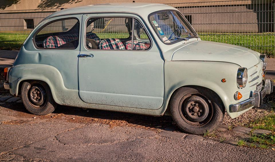 Free photo: Vintage, Auto, Yugoslav Car, Fiat - Free Image on ...