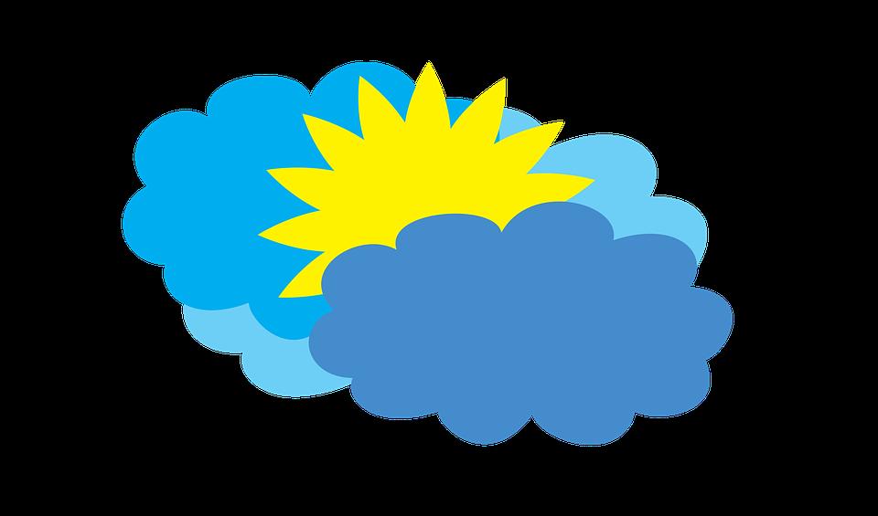 Bulutlu Hava Durumu Parcali Pixabay De Ucretsiz Resim