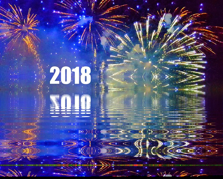 Neujahrsgrüße 2018 Kostenlos Downloaden