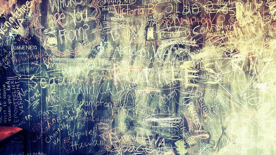 grunge chalkboard chalk free photo on pixabay