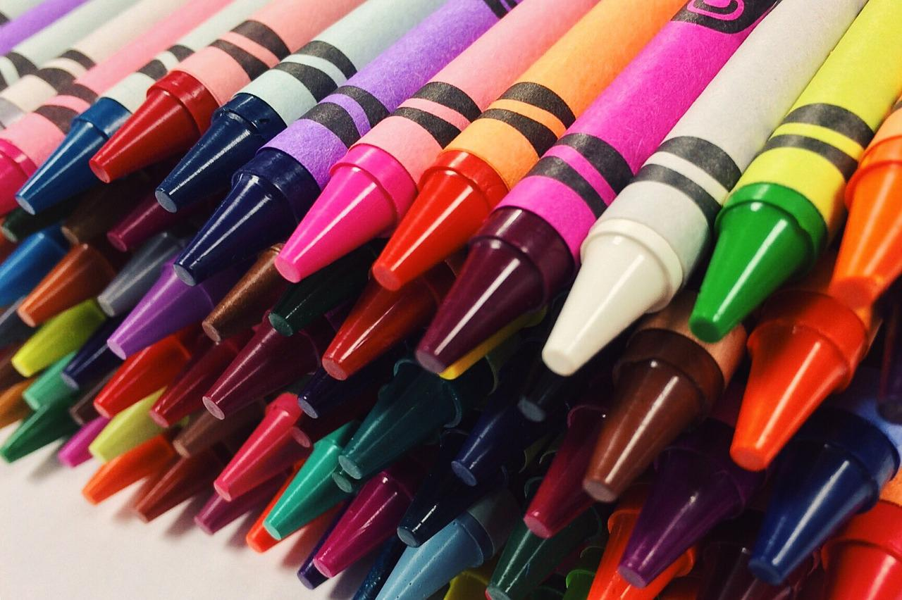 The crayon ranks #18 on the list of most recognizable scents, according to a study done by Yale University.