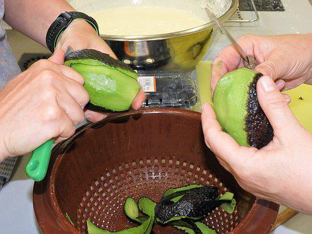 Avocado, Cutting, Prepare, Cooking