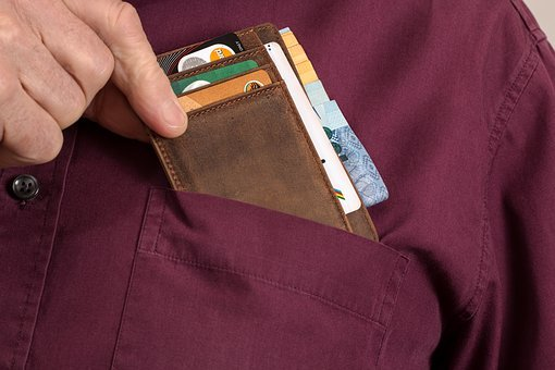 Wallet, Credit Card, Cash, Investment