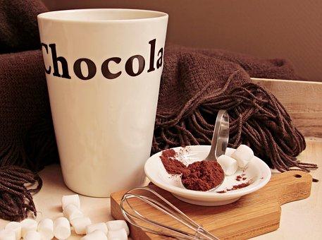 Taza, Cacao, Taza De Cacao, Beber