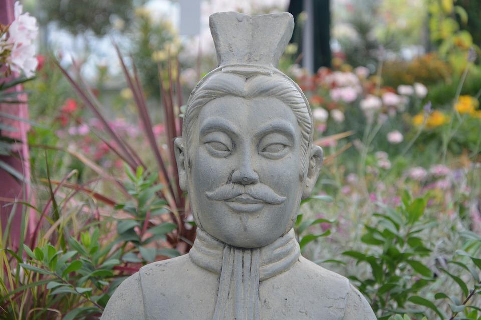 Statue Décoration Jardin Guerrier · Photo gratuite sur Pixabay