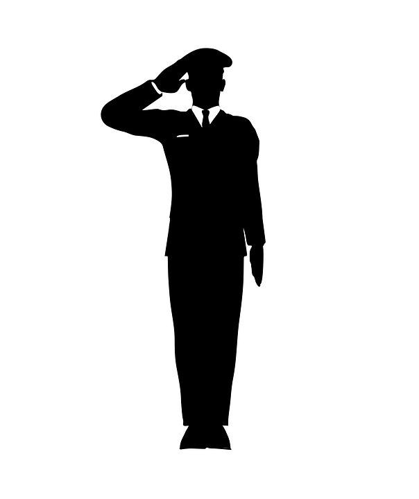 Salute Greet Honor Accost · Free vector graphic on Pixabay