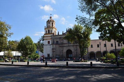 Iglesia, Barrio de Coyoacán,