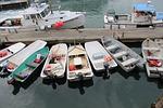 skiff, boat, motor boat