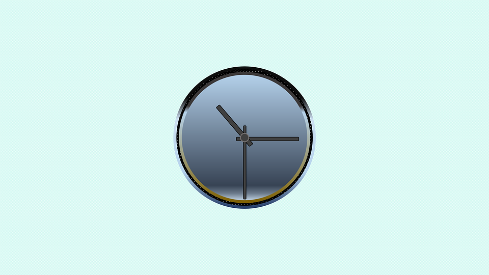 vector clock icon time free image on pixabay
