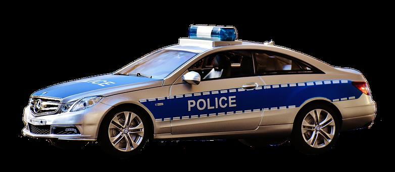 Police Car, Police, Blue Light, Toys
